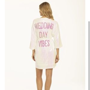 Hayley Paige Athleisure Robe Wedding Day Vibes